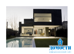 Черный дом в Буэнос-Айресе