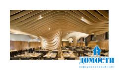 Изумительный дизайн ресторана