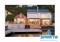 Красивая резиденция на озере Вашингтон