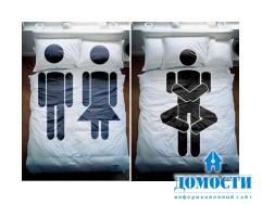 Забавное креативное постельное белье