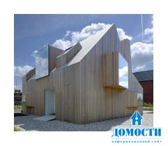 Сочетание архитектуры и скульптуры в доме