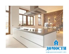 Стильная белая кухня в стиле минимализм: Bulthaup B1