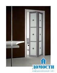 Современные складные двери