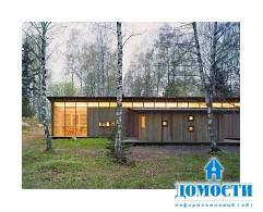 Деревянный летний дом, получивший множество наград