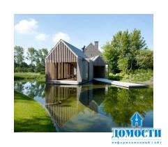 Постройка в стиле фермерский дом