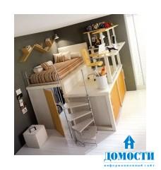 Цветные подростковые спальни