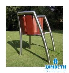 Экзотическая деревянная мебель для отдыха на природе