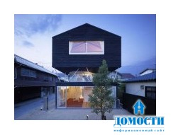 Проект дома из кедра