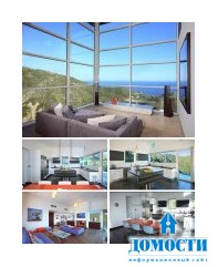 Проект современного дома с панорамными видами
