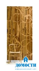 Стеновые панели из переработанной древесины