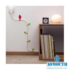 Убрать провода и украсить комнату