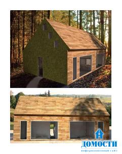 Проекты сборных деревянных домов
