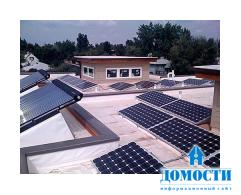 Проект нового типового дома с автономным электроснабжением