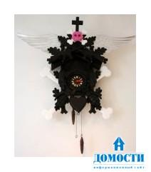 Необычные часы с кукушкой