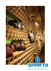 Экологически чистая картонная мебель