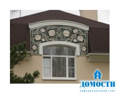Проект загородного дома с фасадом из керамики