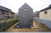 Минималистичный дом с бетонной конструкцией