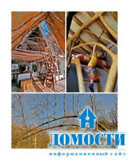 Бревенчатый дом, построенный без единого бревна