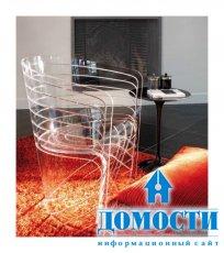 Забавные прозрачные стулья