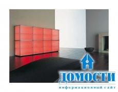 Современные шкафы с иллюминацией