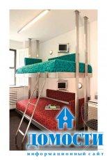 Современные двухъярусные кровати из нержавеющей стали
