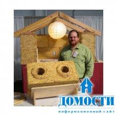 Строительные блоки из соломы – новое слово в строительстве экологичный домов