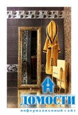 Плитка, покрытая золотой и серебряной эмалью
