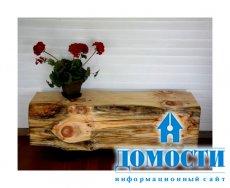 Деревенская мебель для современного интерьера
