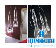 Романтичные стеклянные лампы