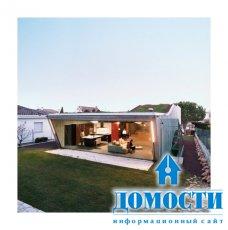 Био-вилла: современный дом с гидропонным садом на крыше