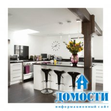 Дизайн бара на кухне