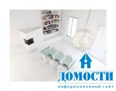Минималистический дизайн белоснежной квартиры