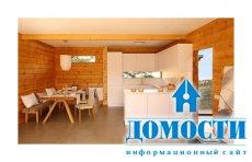 Дом из клееного бруса сосны