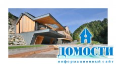 Прогрессивная архитектура – два дома в одном дизайне