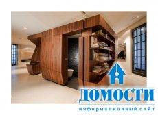 Угловатый дизайн квартиры и мебели
