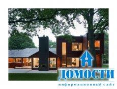 Современный дом в стиле ранчо