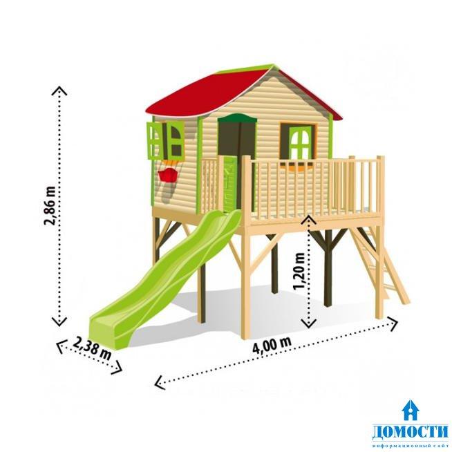 Ландшафтный дизайн детский