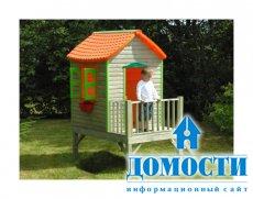 Яркие детские домики