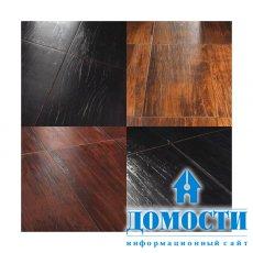Деревянная и металлическая керамическая плитка
