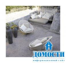 Удобные бетонные и каменные террасы