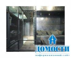 Промышленный интерьер – металлическая квартира