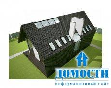 Проект дома, который не любит соседей