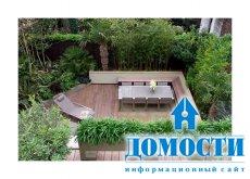 Гениальный дизайн современного сада