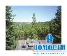 Роскошный дом из переработанной древесины