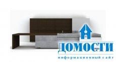 Новый материал для изготовления мебели – бетон