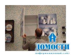 Содержательный рисунок на кухонной мебели