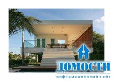 Средиземноморский дом на американском пляже