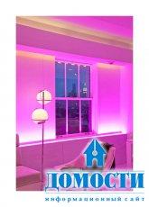 Квартира с декоративным освещением