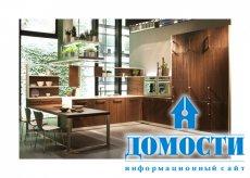 Великолепный дизайн экологичной кухни