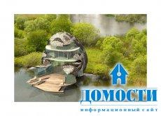 Модель экологичного дома, наполненного эко-технологиями